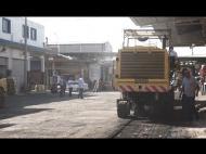 Renovación de calles en el Mercado de Abastos - Enrique Alfaro